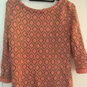 Anthropologie Dolce Vita Pink, Rose Gold Sweater M